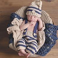 Meily ベビー用着ぐるみ コスチューム 寝相アート ベビー服 新生児 赤ちゃん 出産祝い 百日記念撮影 ハロウィン コスプレ