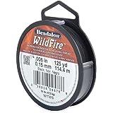 Beadalon Wildfire .006-Inch Black, 125-Yard