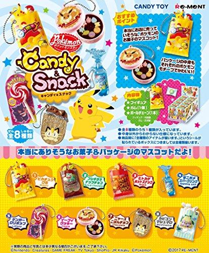 ポケットモンスター Candy&Snackマスコット 8個入りBOX (食玩)