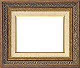 油絵用額縁 8203/アンティークゴールド P10(530×410mm)  ガラス (ライナー色:S/麻)【dras-25】
