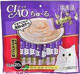 チャオ (CIAO) ちゅ~る かつお ほたてミックス味 14g×20本