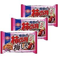 亀田製菓 亀田の柿の種梅しそ6袋詰 182g×3袋