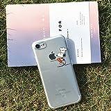 【送料無料】iPhone7 スヌーピー SNOOPY iPhoneケース 可愛い クリアケース 透明 シェフ [並行輸入品]