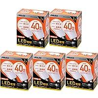 【10個セット】LED電球 E26 広配光 40形相当 電球色 LDA5L-G-4T6-E2P