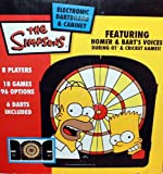 The Simpsons Electronic Dartboard & Cabinet Featuring Homer & Bart's Voices [並行輸入品]