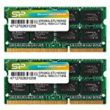 シリコンパワー ノートPC用メモリ 1.35V (低電圧) DDR3L 1600 PC3L-12800 8GB×2枚 204Pin Mac 対応 永久保証 SP016GLSTU160N22