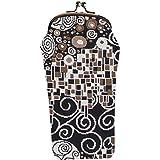 Signare Tapestry Stylish Glasses Sunglasses Pouch Storage Case in Gustav Klimt Kiss (GPCH-KISS)