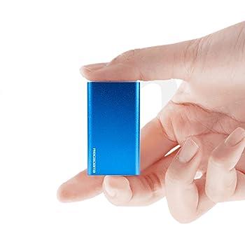 iRecadata Mini 外付け ssd ポータブルSSD 256GB USB 3.0、mSATA III MLC SSD内蔵