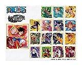 ワンピース ビジュアル色紙コレクション BOX商品 1BOX = 16個入り、全16種類