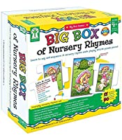 Big Box of Nursery Rhymes: Learn to Say and Sequence 17 Nursey Rhymes While Playing With 90 Puzzle Pieces! (Big Box Games)