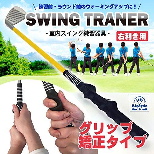 Danact ゴルフ練習器具 素振り スイング矯正 トレーナー アイアン