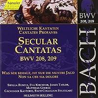 Bach: Secular Cantatas, BWV 208-209