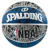SPALDING(スポルディング) グラフィティ ブルー 7号球 83-176Z