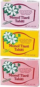 タヒチお土産 | タヒチ モノイティアレ 石けん 3種セット