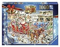 Jigsaw - The Christmas Farm - 1000 Pieces RB19452 by Ravensburger [並行輸入品]