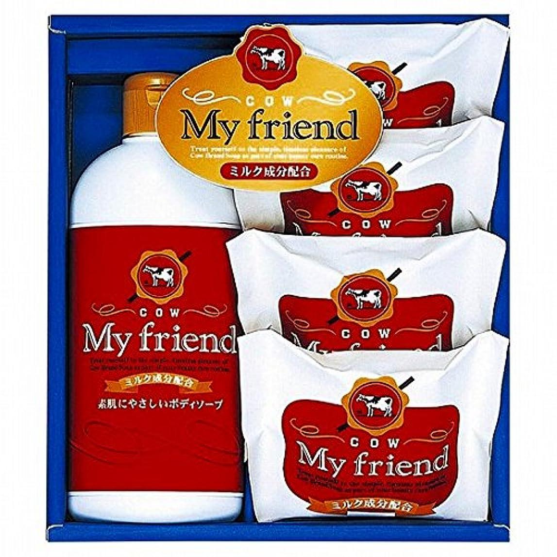 大理石日焼け利用可能nobrand 牛乳石鹸 マイフレンドボディソープセット (21940007)