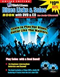 Blues Guitar Licks & Solos Book with Video & Audio Access (English Edition)