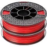 AFINIA (アフィニア)純正プレミアムABSフィラメント 2個パック 赤色 500g x 2個