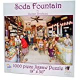 """Best SunsOut 1000ピースのパズル - """"The Soda Fountain"""" 1000 piece puzzle from Sunsout Review"""
