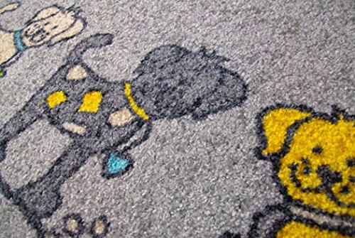 クリーンテックス ジャパン Dog Parade50×75cm デザインマット [7208]