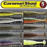 一誠 キャラメルシャッド 5inch issei Caramel Shad 11 ブルーギル 5本入