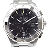 [タグ・ホイヤー] TAG HEUER メンズ腕時計 アクアレーサー クロノグラフ CAY2110.BA0925 ブラック文字盤 未使用品