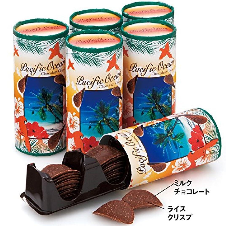 ワゴンシンボルスキムグアム 土産 パシフィック オーシャン ミニチョコチップス 6個セット (海外旅行 グアム お土産)