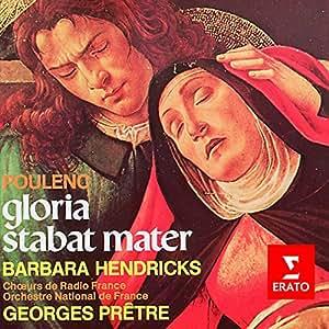プーランク:グローリア&スターバト・マーテル                                                                                                                                                                                                                  曲目リスト