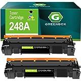 GREENBOX Compatible Toner Cartridge Replacement for HP CF248A 48A for HP Laserjet Pro M15w M15a M16a M16w HP Laserjet MFP M28