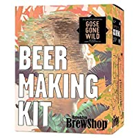 Brooklyn Brew Shop/Stillwater Gose Gone Wild Beer Making Kit: All-Grain Set With Reusable Glass Fermenter, Brew Equipment, Ingredients (Malted Barley, Hops, Yeast) - Perfect to Brew Craft Beer At Home [並行輸入品]