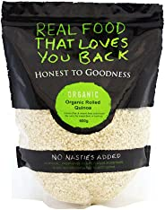 Honest to Goodness Organic Rolled/Flaked Quinoa, 600g