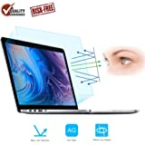 """FORITO 2PCS Compatible with MacBook Pro 13"""" Screen Protector Blue Light Filter, Blue Light Blocking Anti Glare Screen Protect"""