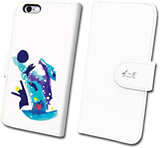 ACP スマートフォンケース アーティスト シリーズ No.1 オオサワアキラ 『 I am trying to tell a story only I can tell. 』 【 手帳 タイプ 】 (iPhone6/6s)