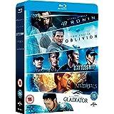 Oblivion / Battleship / Immortals / Gladiator / 47 Ronin - 6-Disc Box Set