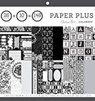 ColorBok 68280B Paper Plus Pad Chateau Noir 12 x 12 [並行輸入品]