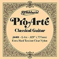 D'Addario ダダリオ クラシックギター用バラ弦 プロアルテ E-1st J4401 【国内正規品】