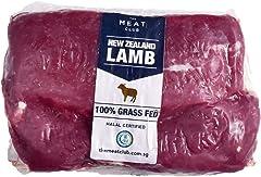 The Meat Club Free Range Grass Fed Lamb Loin Boneless (2 pcs) - New Zealand - Frozen, 500 g