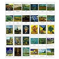芸術的な美しい30 PCS 1セットヴィンテージレトロポストカード、ゴッホ
