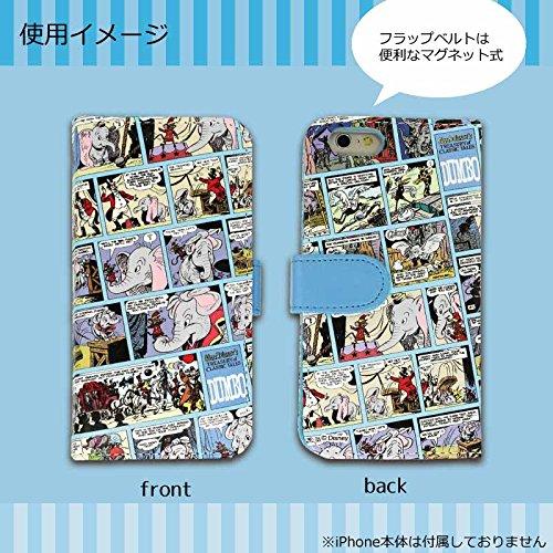 [iPhone6/4.7インチ対応]ディズニー(ダンボ)コミックアート手帳型ケース