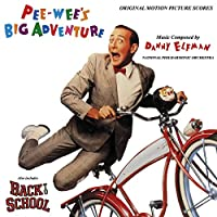 Pee-Wee's Big Adventure - Original Motion Picture Score (Red Vinyl) [Analog]