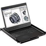 "Rackmount Console - 1U 19"" Rackmount Monitor, 1440 X 900 Resolution, VGA & DVI-D Input (Crystal Image Tech Part#RM-111-19WH)"