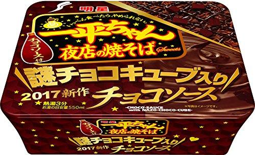 明星 一平ちゃん夜店の焼そば チョコソース108g×12個