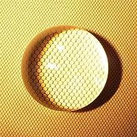 拡大鏡  ルーペ アクリル 半円形 半球 クリスタル ペーパーウェイト 文鎮 水信玄饼 水饅頭 (65)