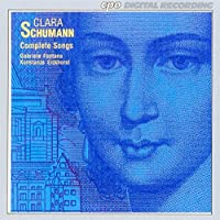 Complete Songs by SCHUMANN-WIECK (1994-11-29)