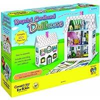 Kreativit?t f?r Kinder: Recycling-Karton Dollhouse (import)