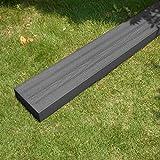 igarden アイガーデン 枕木 ブラック 210cm1本 アイウッド人工木製