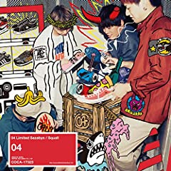 Squall♪04 Limited SazabysのCDジャケット