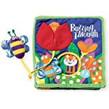 Manhattan Toy Sunny Day with Tethered Toy Soft Activity Book