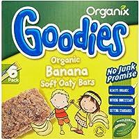 Organix Goodies Organic Soft Oaty Bars - Banana 12mth+ (6x30g) バナナ12Mthの+ ( 6X30G ) - Organixは、有機ソフトoatyバーをグッズ