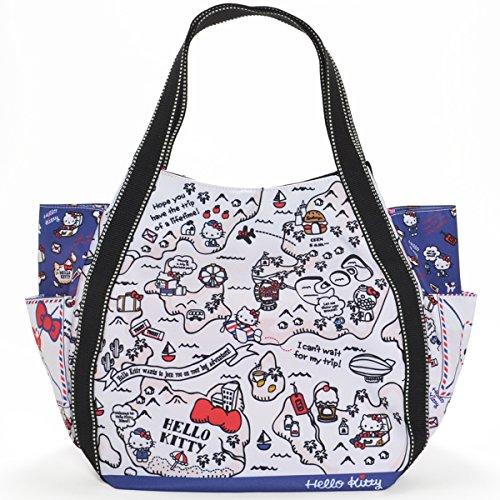 【B8-2】 Hello Kitty ハローキティ 限定40周年 マザーズバッグ トートバッグ マザーズトートバッグ (4052)